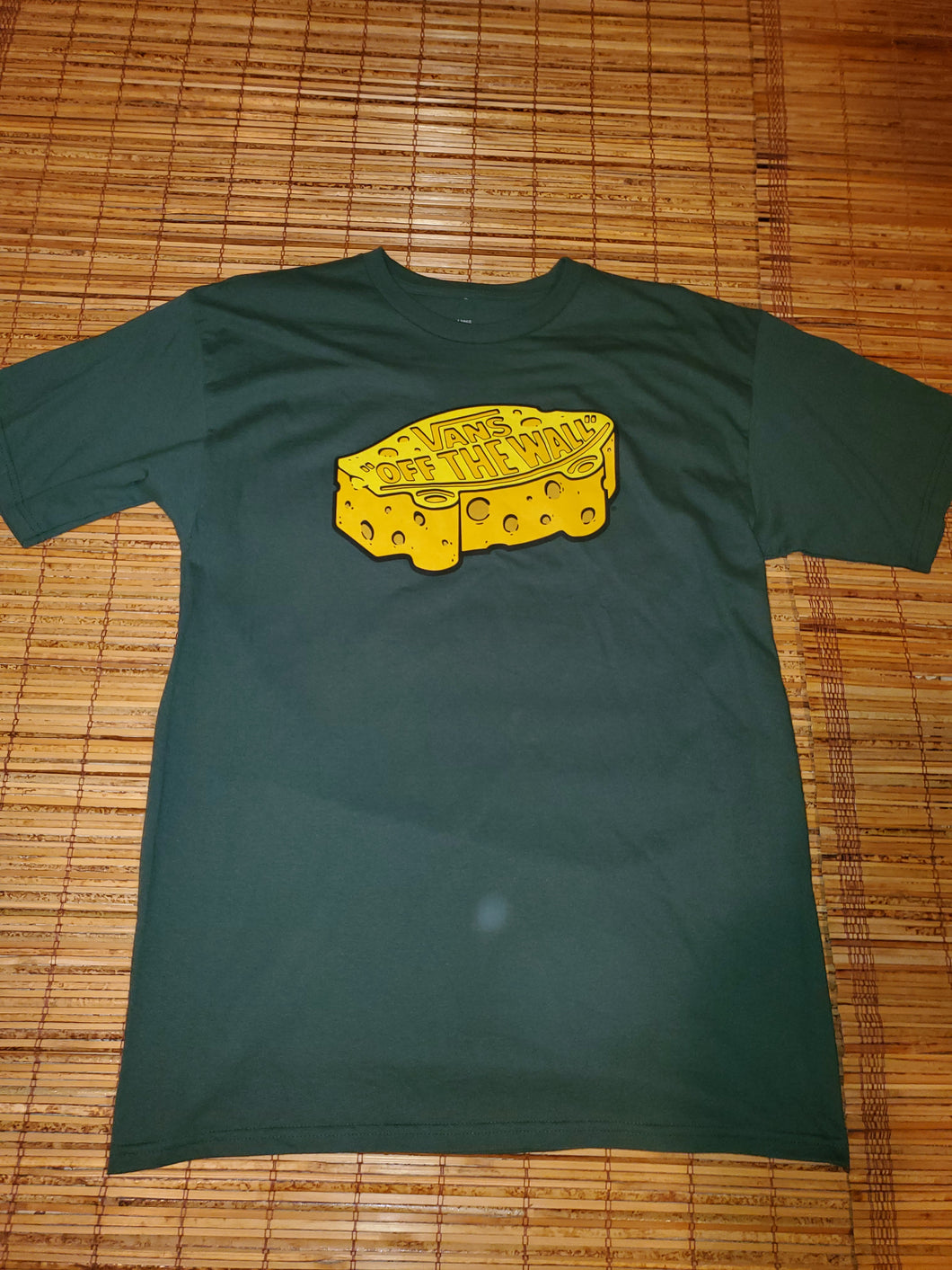 L - Vans Off The Wall Cheese Shirt
