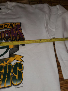 L - Vintage Green Bay Packers Super Bowl Sweater