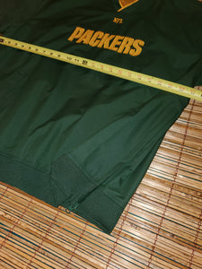 L - Packers Pullover Windbreaker