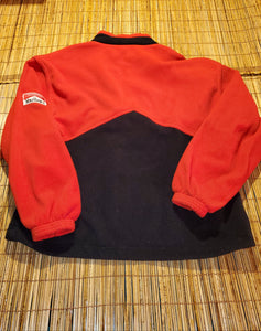 XL - Vintage Marlboro Fleece Zip Up Sweater