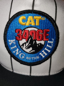 Vintage CAT Pinstripe Hat