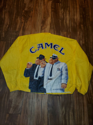 XL - Vintage Camel Windbreaker