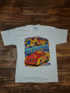 L - NEW Vintage KFC Sprint Car Kris Patterson Racing Shirt