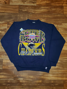 M - NEW Vintage 1994 Logo 7 Superbowl XXIX Sweater