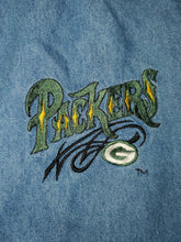 Load image into Gallery viewer, XL - Vintage Packers Denim Button Up Shirt