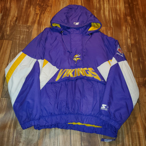 XL - Vintage Starter Vikings Jacket