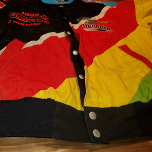 M - Vintage 1998 Jeff Gordon 3 Time Champion Jeff Hamilton Jacket
