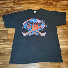 Load image into Gallery viewer, XL - Vintage 1996 Styx Tour Shirt