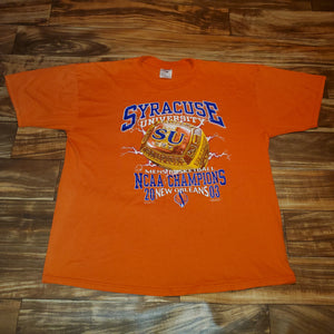 XL - 2003 Syracuse University NCAA Champions Shirt