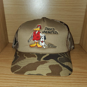 Vintage 1986 Ducks Unlimited Hat