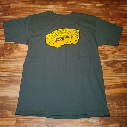 L/XL - Vans Packers Cheese Head Shirt