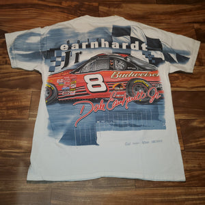 L/XL - Dale Earnhardt Jr All Over Print Nascar Shirt