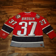 Load image into Gallery viewer, M/L - Buffalo Sabres Curtis Brown Stitched Jersey