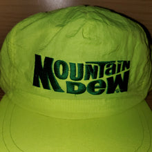 Load image into Gallery viewer, Vintage Mountain Dew Soda Advertisement Hat