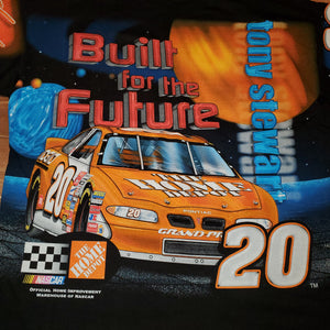 XXL - Vintage Tony Stewart Built For The Future Nascar Shirt