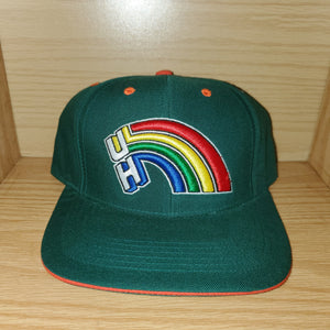 Vintage Hawaii Rainbows Fitted 7 Hat