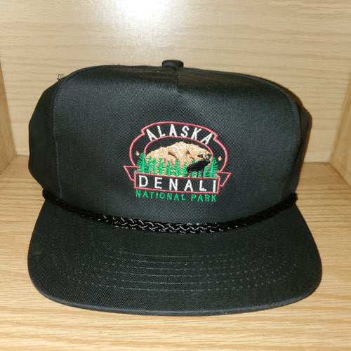 Vintage Alaska Denali National Park Nature Hat