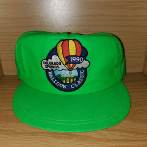 Vintage 1990 Colorado Springs Ballon Classic Hat