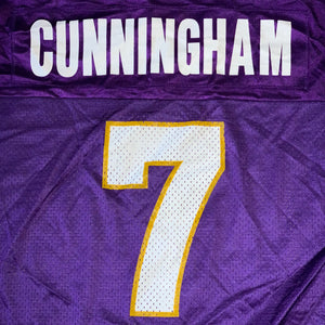 Size 44 - Vintage Randall Cunningham Vikings Champion Jersey