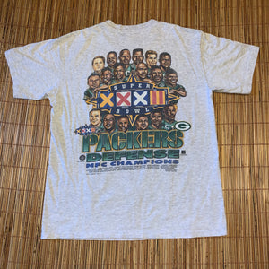 L - Vintage 1997 Packers 2-Sided Caricature Shirt