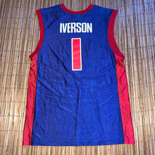 Load image into Gallery viewer, M/L - Allen Iverson Detroit Pistons NBA Jersey
