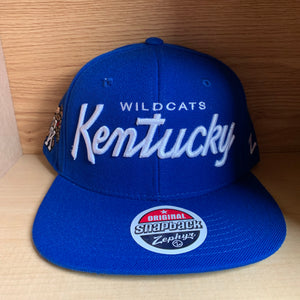 Kentucky Wildcats NCAA Script Hat NEW