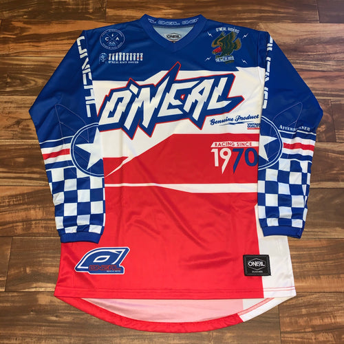 M/L - O'Neal The Art Of Moto Racing Jersey