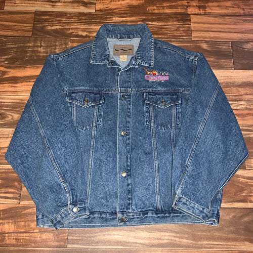 XL - Vintage Oneida Bingo & Casino Denim Jacket