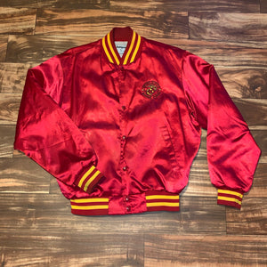 L - Vintage USMC Marines Satin Jacket