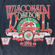 Load image into Gallery viewer, L - Vintage 1994 Badgers Rose Bowl Shirt