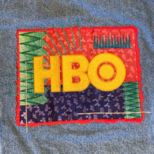 Load image into Gallery viewer, XL - Vintage HBO Embroidered Denim Jacket