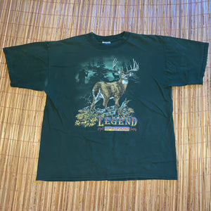 XL - Vintage 1998 Legend Of The Fall Buck Hunting Shirt