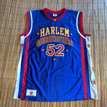 Load image into Gallery viewer, L/XL - Vintage Harlem Globetrotters Big Easy Autographed Jersey