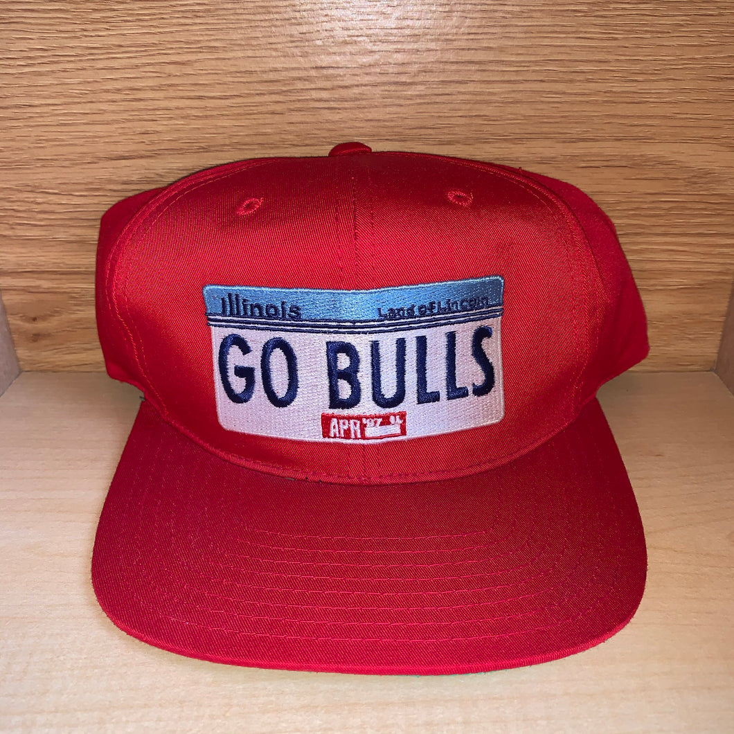 Vintage 1987 Chicago Bulls Hat