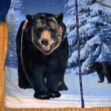 Load image into Gallery viewer, XL - Grizzly Bear Sherpa Lined All Over Print Hoodie