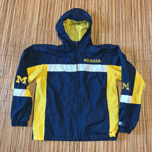 Youth L - Vintage Michigan Wolverines Starter Jacket