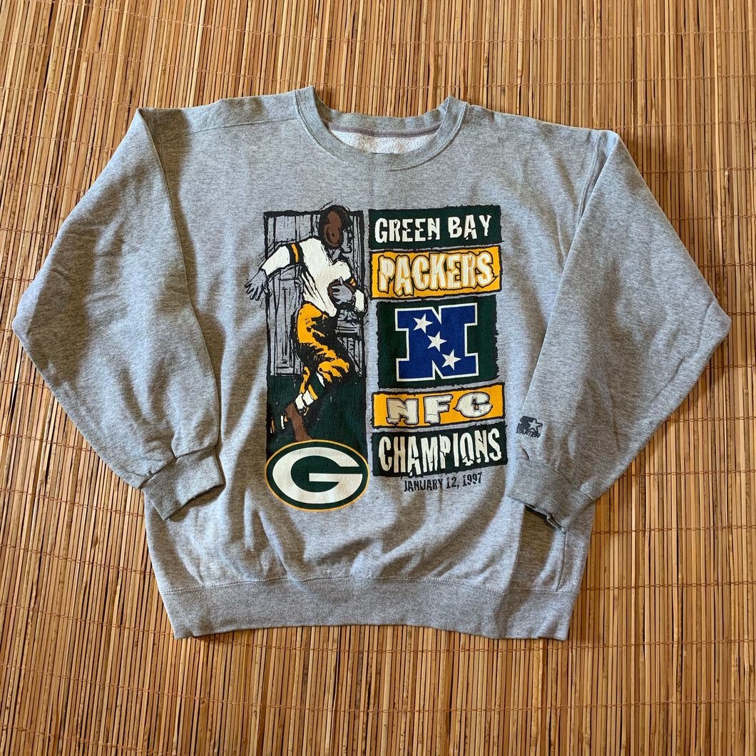 XL(See Measurements) - Vintage 90s Packers Starter Sweater
