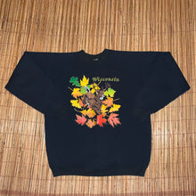 Load image into Gallery viewer, XL - Vintage Wisconsin Fall Sweater