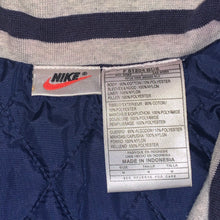Load image into Gallery viewer, XL - Vintage 90s Nike Quilted Bomber Jacket
