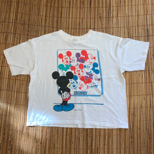S(See Measurements) - Vintage 1994 Mickey Mouse Shirt