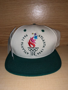 Vintage 1996 Atlanta Olympics Hat NEW