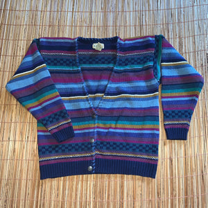 Women's M - Vintage LL Bean Cardigan Sweater