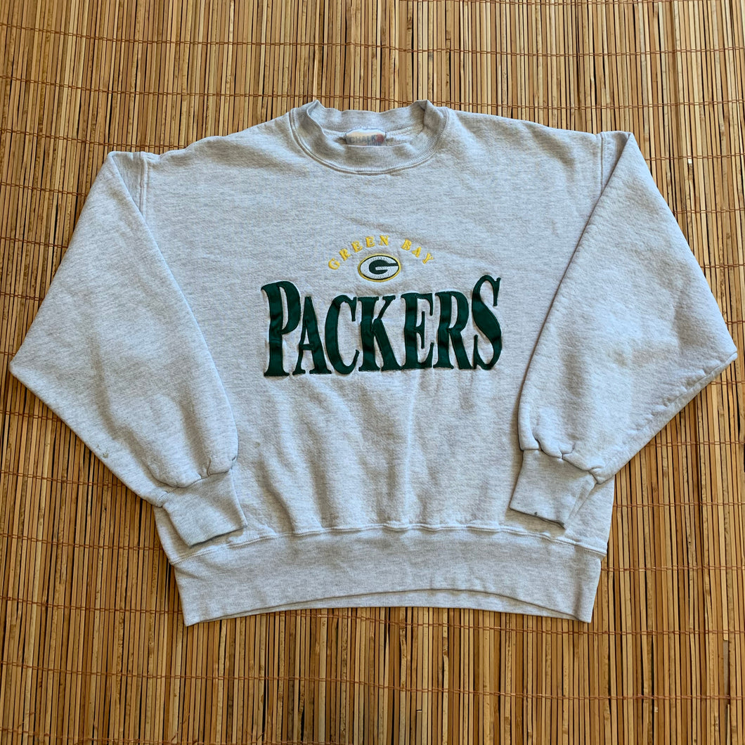 SHORT M/L - Vintage Green Bay Packers Crewneck