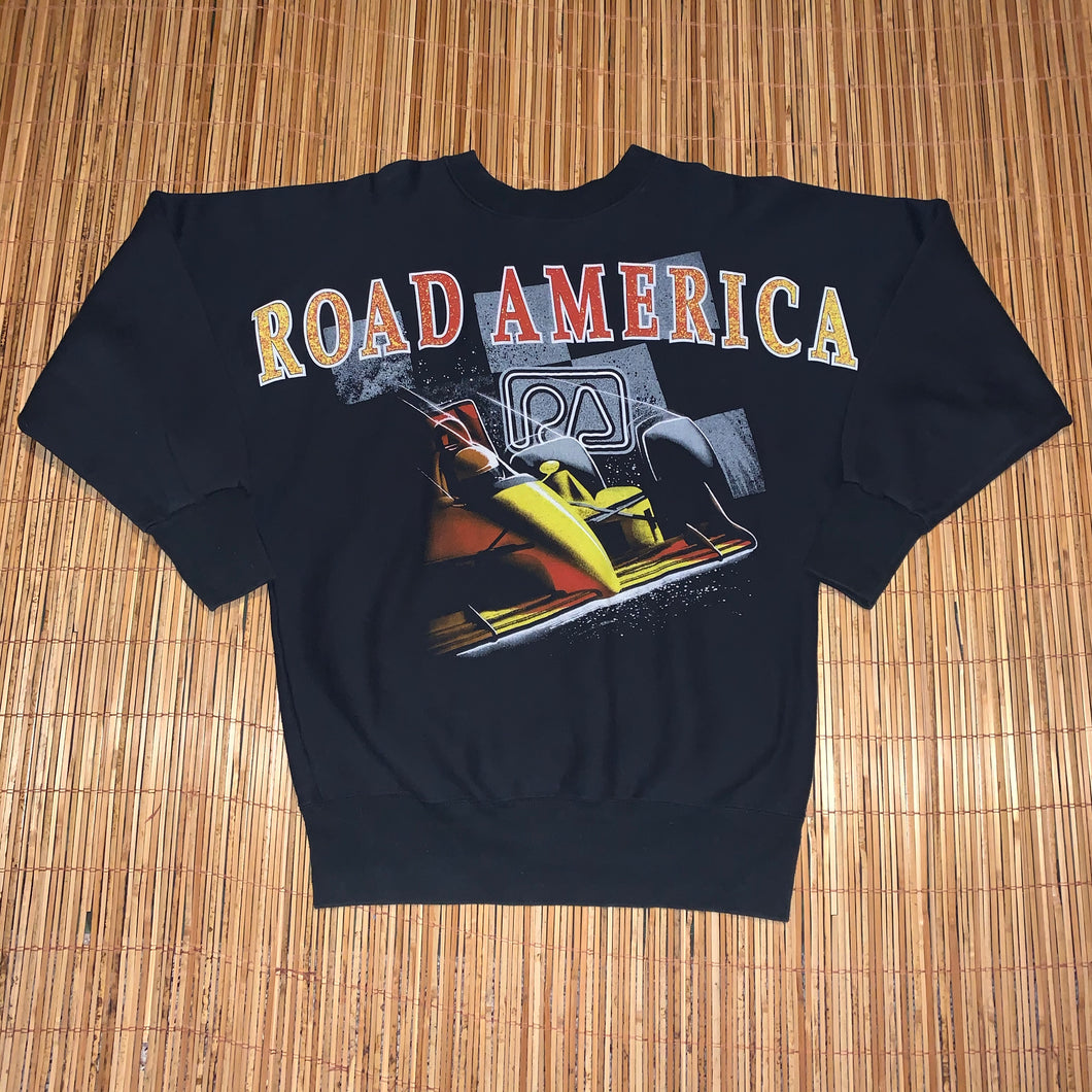 L/XL - Vintage Road America Sweater