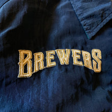 Load image into Gallery viewer, M/L(See Measurements) - Vintage Milwaukee Brewers Starter Jacket