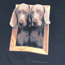 Load image into Gallery viewer, XL(See Measurements) - Vintage 90s William Wegman Art Dogs Shirt