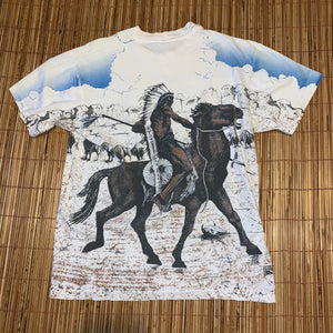 L - Vintage 1994 2-Sided Graphic Native Shirt
