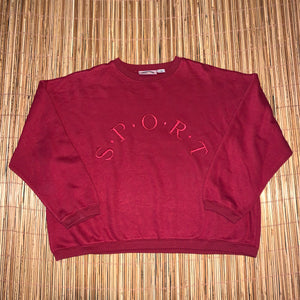 Women's L/XL(See Measurements) - Vintage Embroidered Sport Sweater Bundle