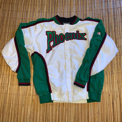 L - Vintage 1980s Game Worn Champion UWGB Basketball Suit