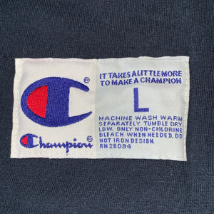 L - Champion Cut Off Embroidered Shirt